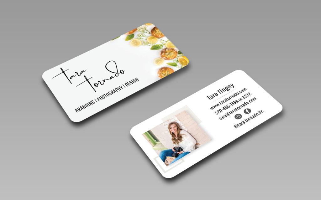 Tara Tornado LLC Business Cards